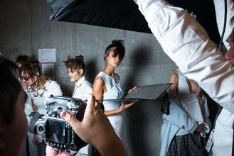 Casting modelle per shooting fotografico per catalogo fashion in Toscana